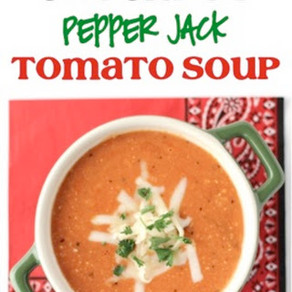 Crockpot Pepper Jack Tomato Soup Recipe!.