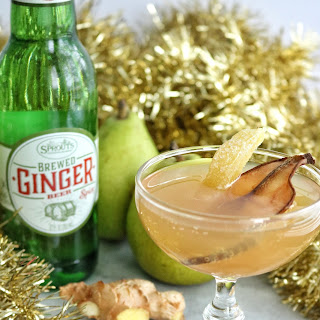 Ginger Beer Pear Punch.