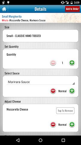 android Domino's Saudi Arabia Screenshot 3