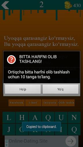 Topishmoqlar 9.0 screenshots 8