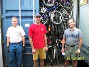 Photo: Volunteers Mark Powell , Randy Swart, Matt Macdonald