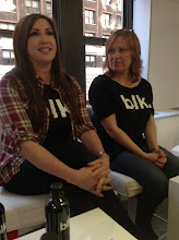 Photo: Jaqueline Manzo and Caroline Manzo talking about Blk Water.