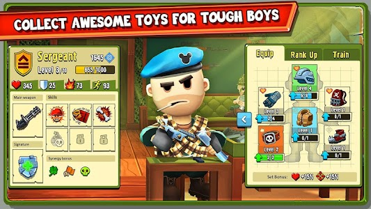 The Troopers: minions in arms screenshot