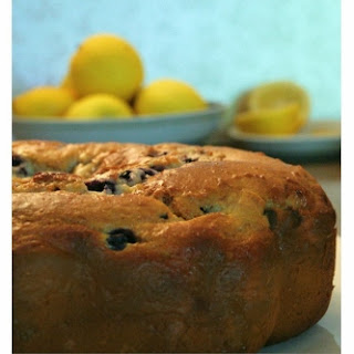 Lemon Blueberry Cake.