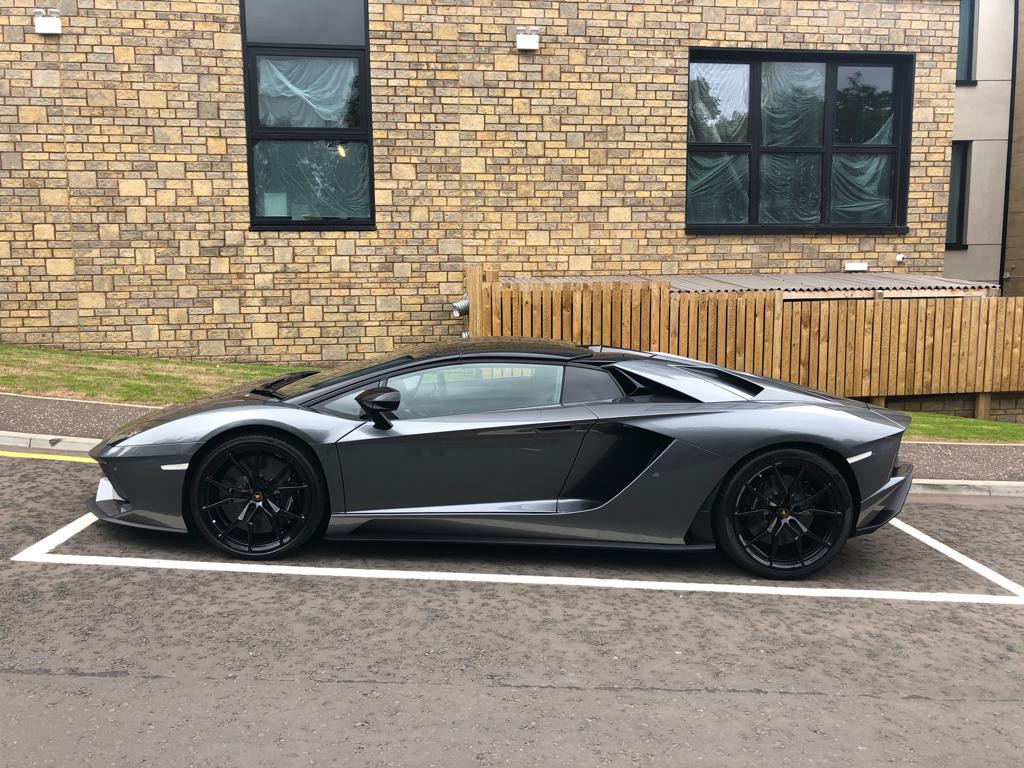 Lamborghini Aventador Roadster Hire London