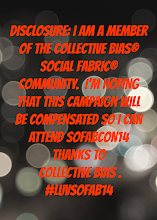 Photo: Disclosure: I am a member of the Collective Bias® Social Fabric® Community. I'm hoping that This campaign will be compensated so I can attend SoFabCon14 thanks to Collective Bias . #LuvSoFab14, #SoFabCon14 and #collectivebias