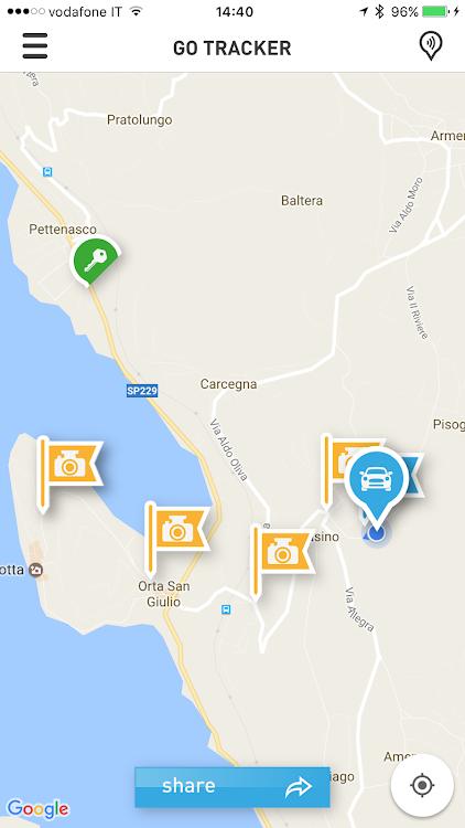 Társkereső tracker app
