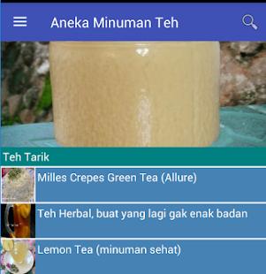 Aneka Minuman Teh - náhled