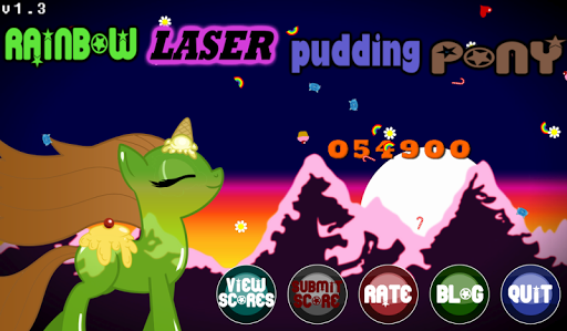 Rainbow Laser Pudding Pony for PC