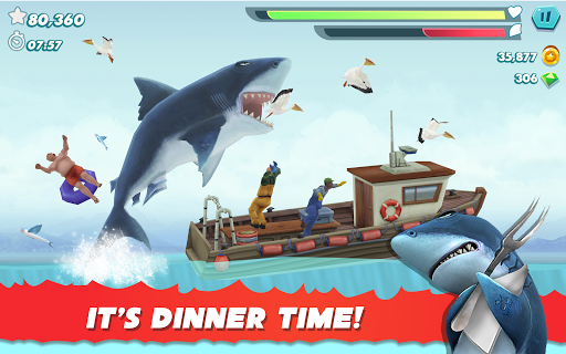 Hungry Shark Evolution apktram screenshots 9