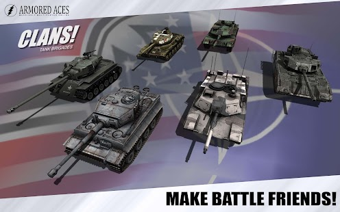 Armored Aces - 3D Tanks Online- screenshot thumbnail