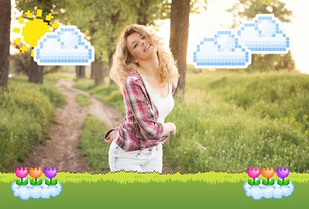 8 Bit Pixel Art Photo Frames screenshot 1