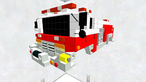 U.S fire engine