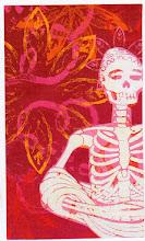 Photo: Wenchkin's Mail Art 366 - Day 129, card 129a