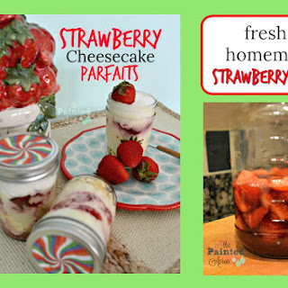Strawberry Shortcake Cheesecake Parfaits Recipe