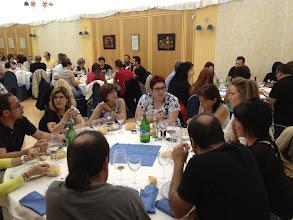 Photo: Los de esta mesa por poco se quedan sin cenar