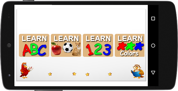 Kids Learning (ABC,123,colors, shapes...) - náhled