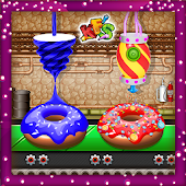 Donut Factory & Cooking Chef