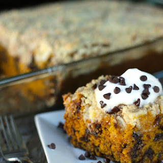 Chocolate Chip Pumpkin Coffee Cake
