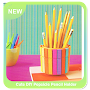 Cute DIY Popsicle Pencil Holder APK icon