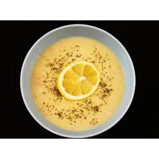 Greek Lemon Chicken Orzo Soup