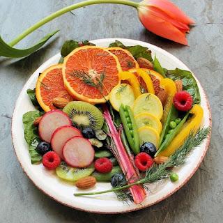Full-Spectrum Energizing Salad with a Honey-Lemon Tarragon Vinaigrette