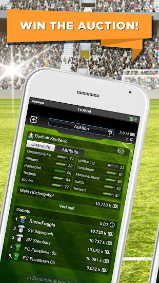 Goal Football Manager- screenshot thumbnail