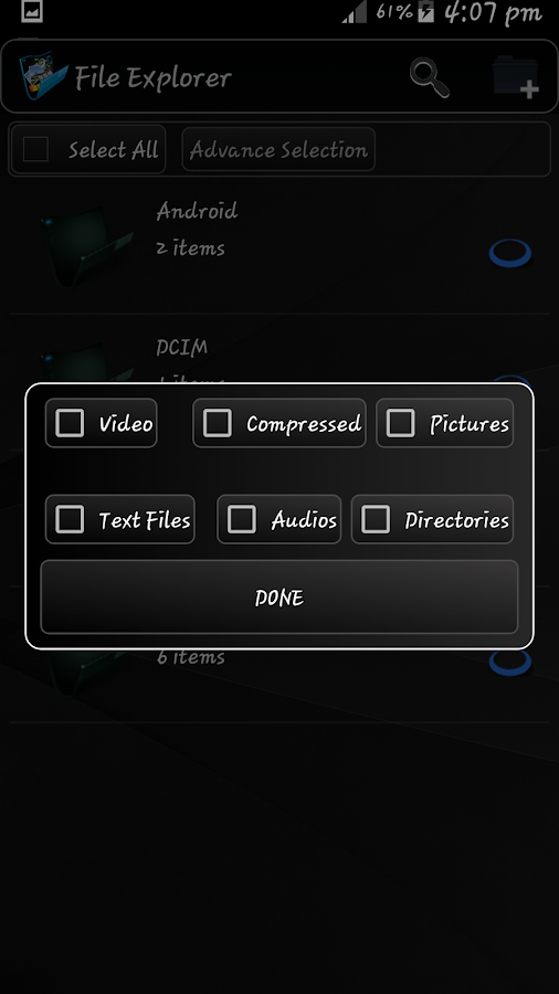 File Manager- screenshot