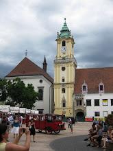 Photo: Vanha kaupungintalo Bratislavassa