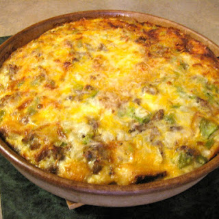 Sausage & Cheese Egg Casserole
