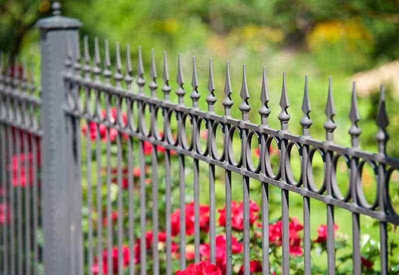 The Iron Curtain Garden Fencing Idea