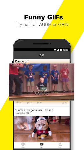 BuzzVideo - Viral Videos, Funny GIFs &TV shows 5.7.2 screenshots 5