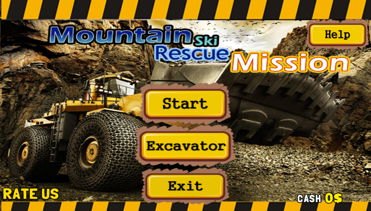 Mountain Slide Rescue Mission- screenshot