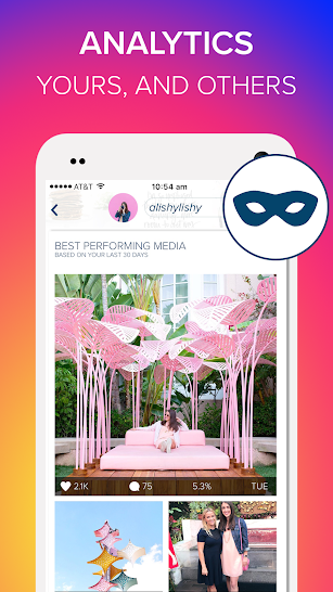 Plann: Preview, Analytics + Schedule for Instagram screenshot for Android