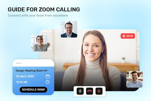 Guide For ZOOM Cloud Meetings VideoCall Conference screenshot 3