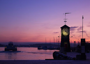 Photo: Time... Oslo Fjord  オスロフィヨルド