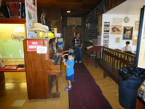 Photo: There was a small free museum attached, with Western Nebraska-themed exhibits