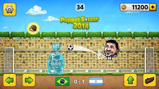 ⚽ Puppet Soccer 2014 – Football ⚽  captures d'écran 2