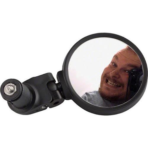 MSW Selfie Round Handlebar Mirror RVM-210