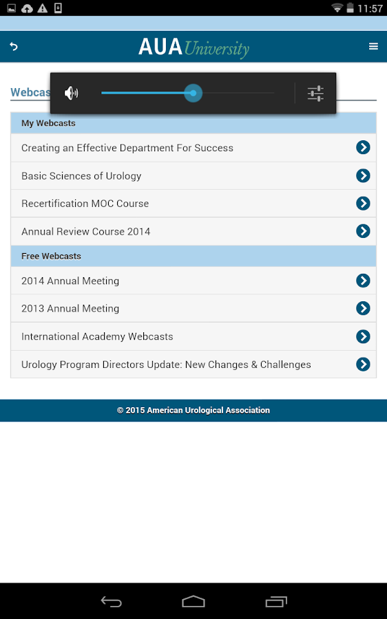 AUAUniversity- screenshot