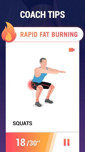 Fat Burning Workouts - Lose Weight Home Workout 1.0.3 screenshots 3