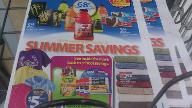 Photo: I picked up an ad to check out what is on sale or on special.