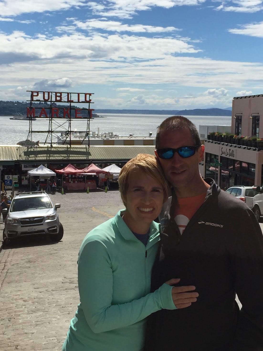 Elise & Josh at Pike Place Market