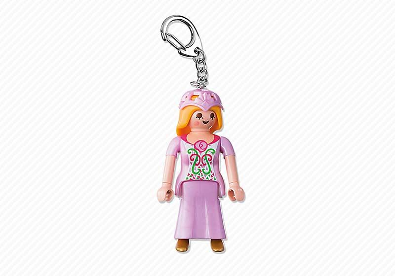 Contenido real de Playmobil® 6618 Llavero Princesa
