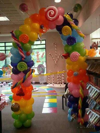 アイデアを飾る風船