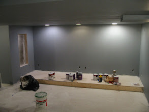 Photo: First coat of primer goes on...