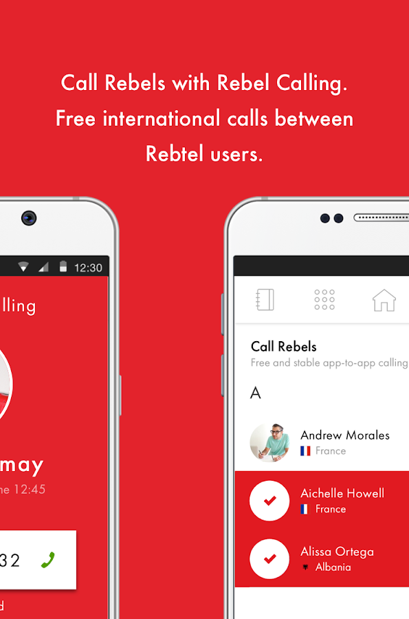 Rebtel - International Calling- screenshot