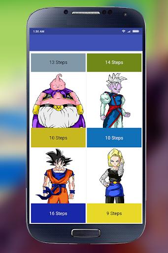 Learn to Draw Goku - DBZ 1.0 screenshots 5