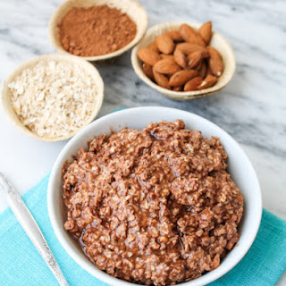 Chocolate & Almond Butter Overnight Oats