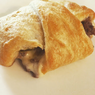 Bison Cheeseburger Crescent Roll Ups